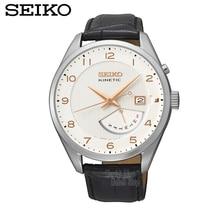 SEIKO Watch Kinetic Human Power Quartz Watch Male Watch Leisure Watch SRN049J1