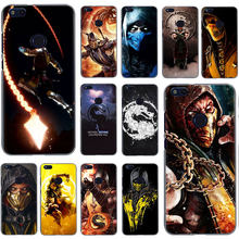Scorpion In Mortal Kombat Hard Phone Case for Huawei Honor 20 Play 6 7 8 A C Pro 2GB/3GB 7C 5.99in 7 9 10 X Lite(China)