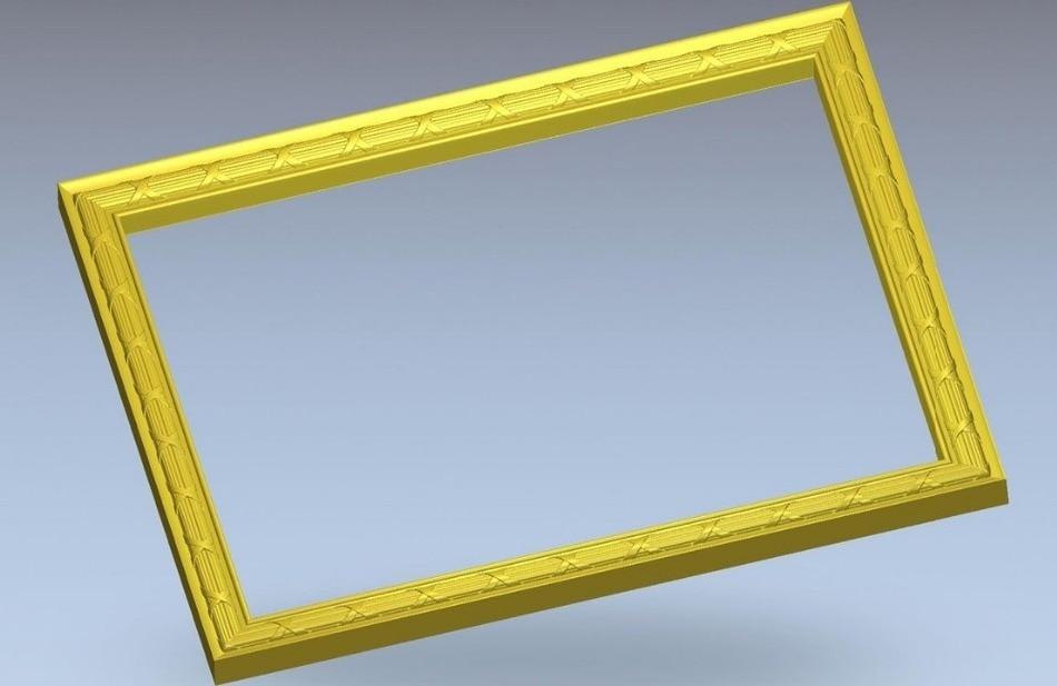 3d Model Relief  For Cnc In STL File Format Frame_11