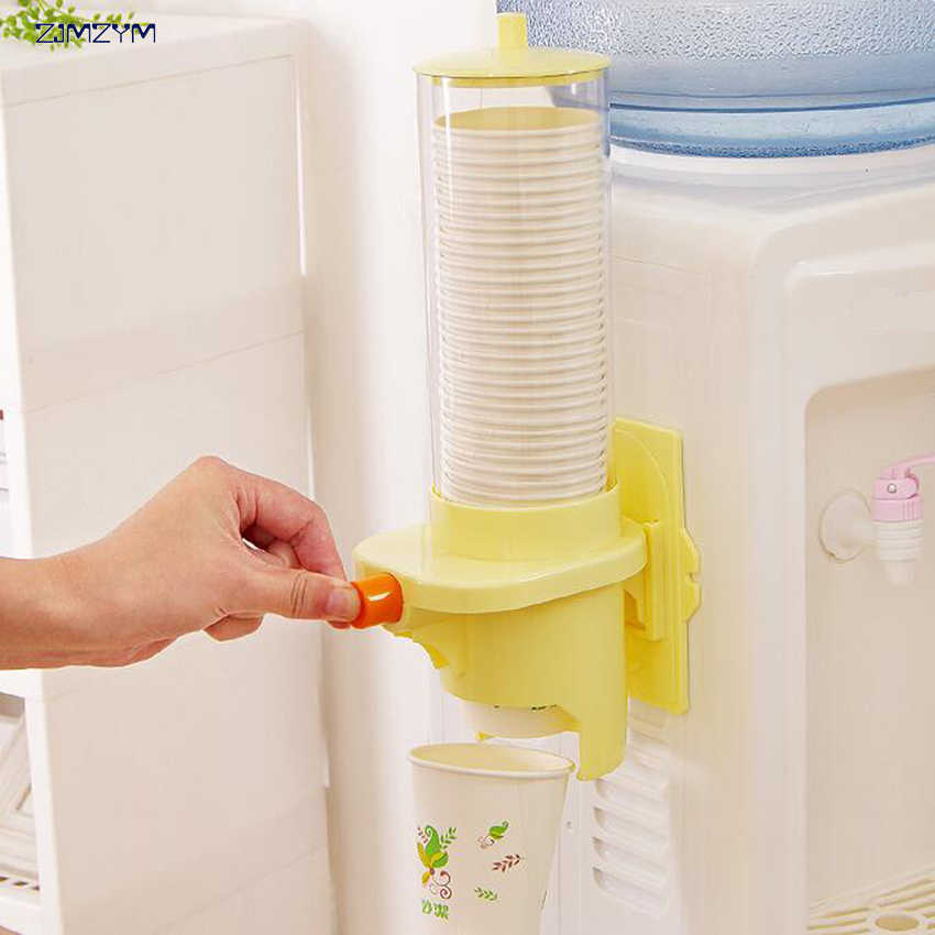 Automatic Disposable Paper Cups Storage Holder For Water Dispenser