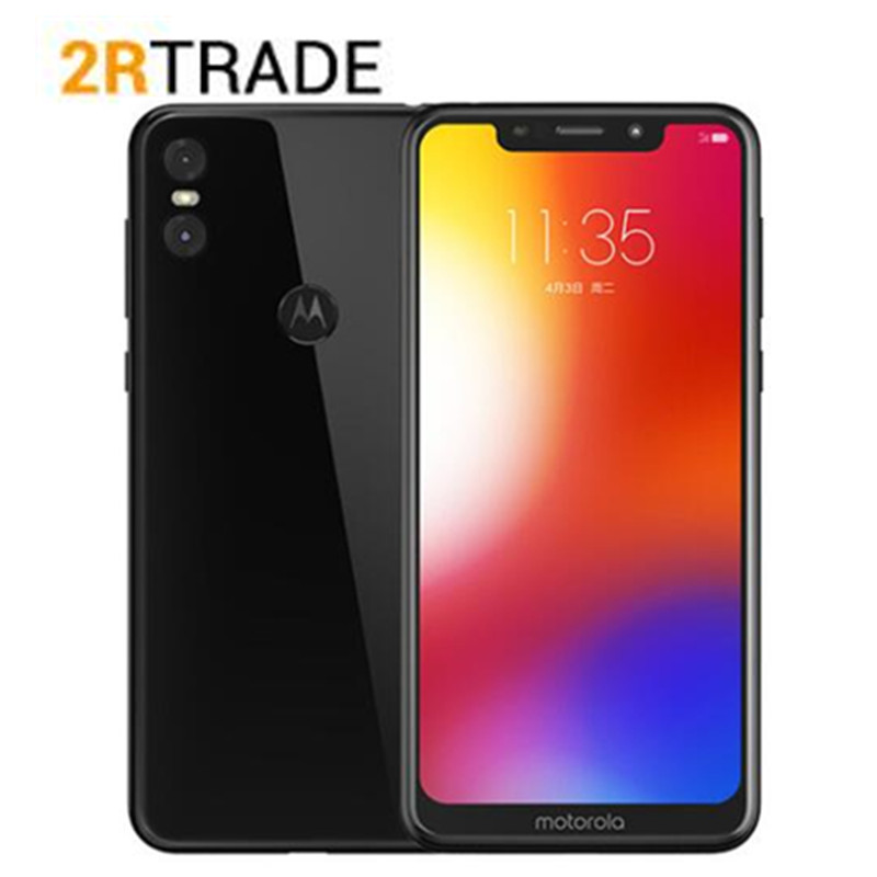 Global rom Motorola MOTO P30 Play 4G 64G LTE Snapdragon 625 Octa Core 1.8GHz ZUI 4.0 Fingerprint Dual Camera 13.0MP 1080P phone