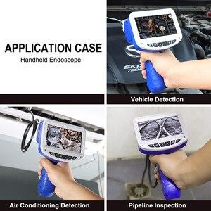 Image 4 - 4.3 インチ LCD 工業用内視鏡のための 8 ミリメートル 1080 HD マイクロビデオ検査カメラ自動車修理ツールヘビハードハンドヘルド内視鏡