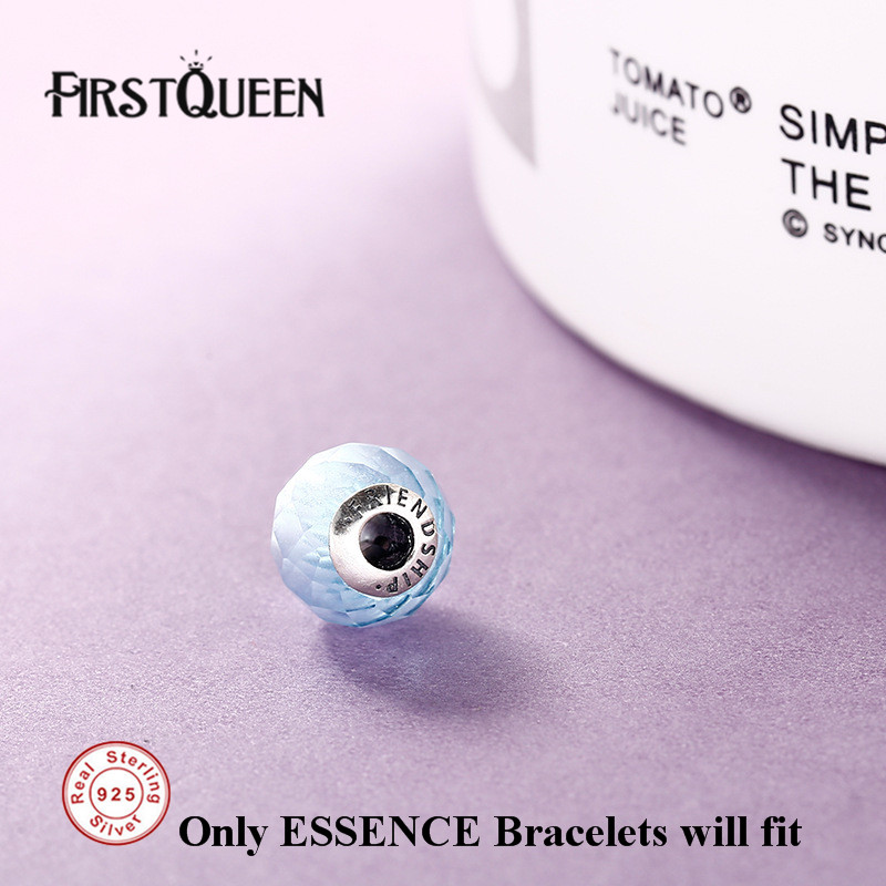 FirstQueen 100% Silver 925 Essence Friendship Bead Fit Brand Charms Silver 925 Original Essence For Jewery Making Fine Jewelry