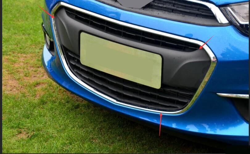 Adapte pour chevy aveo sonic 2014-2016 1 pcs d'origine version calandre calandre inférieure