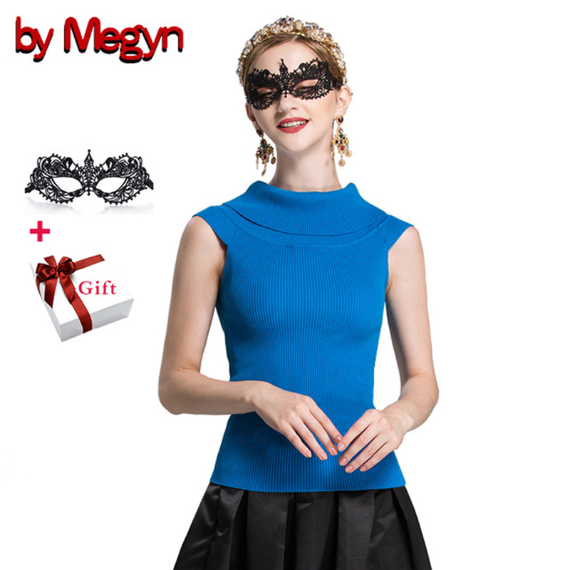 by Megyn camisole tank knitted sweater top women sexy off shoulder elastic bodycon sweater female christmas jumper cami sweaters