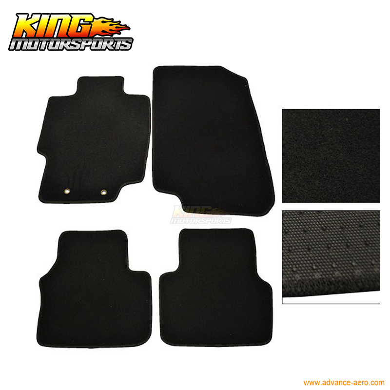 For 04 08 Acura TL 4Dr Floor Mats Carpet Front & Rear