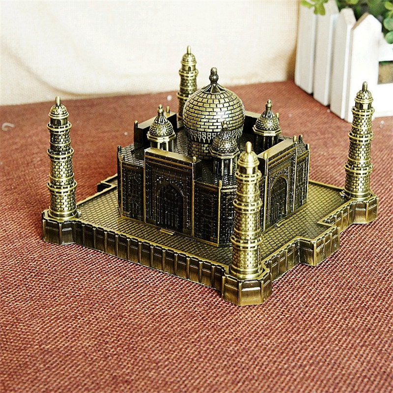 India Taj Mahal Decoratie Metal Crafts World Landmark Gebouw - Huisdecoratie - Foto 4