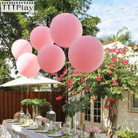 10pcs Wedding Decoration Big Large Latex Balloons Christmas Event Inflatable Birthday Party Air Balloons (Blow Up 18 Inch/45cm)