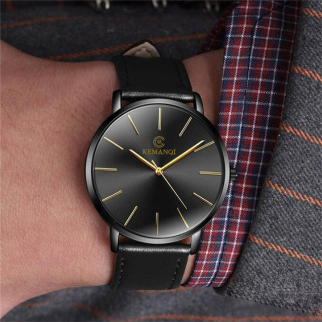 Relogio Masculino Mens Watches Top Brand Luxury Ultra-thin Wrist Watch Men Watch Men's Watch Clock erkek kol saati reloj hombre 5