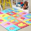9pcs Set EVA Car Airplane Animal Firut Vegetables Mat Puzzle Carpet Child Play Mat Foam Flooring