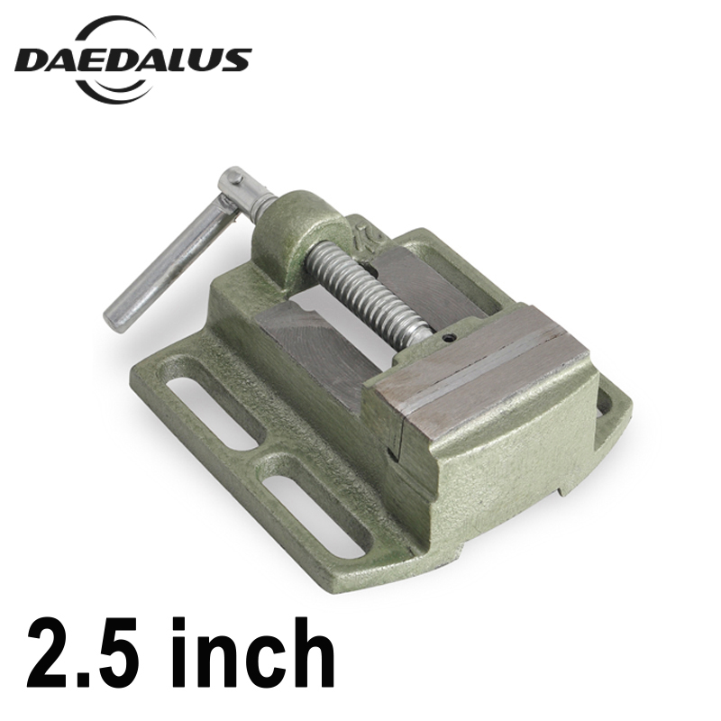 2 5 Inch Bench Vise Table Flat Clamp on Plier Drilling Press Milling Machine Clamping Clamp
