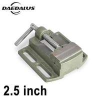 2.5 Inch Bench Vise Table Flat Clamp on Plier Drilling Press Milling Machine Clamping Clamp Firmly Woodworking Hand Tool