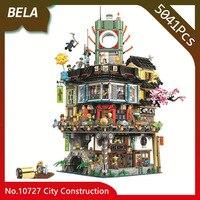 Бела 10727 ниндзя серии 5041 шт. великого творца город строительные блоки DIY игрушки Интересные детские подарки, совместимые 70620