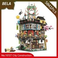 Bela 10727 Ninja Series 5041pcs Great Creator City Construction Building Blocks DIY Toys Interesting Kids Gifts Compatible 70620