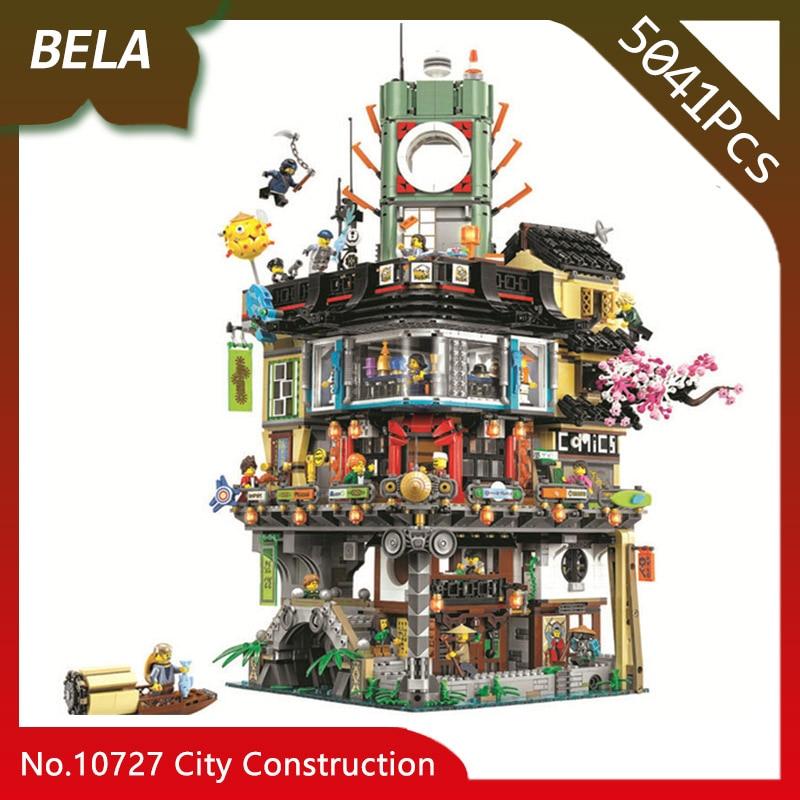 Bela 10727 Ninja série 5041 pièces grand créateur ville Construction blocs de Construction bricolage jouets compatibles avec Legoings