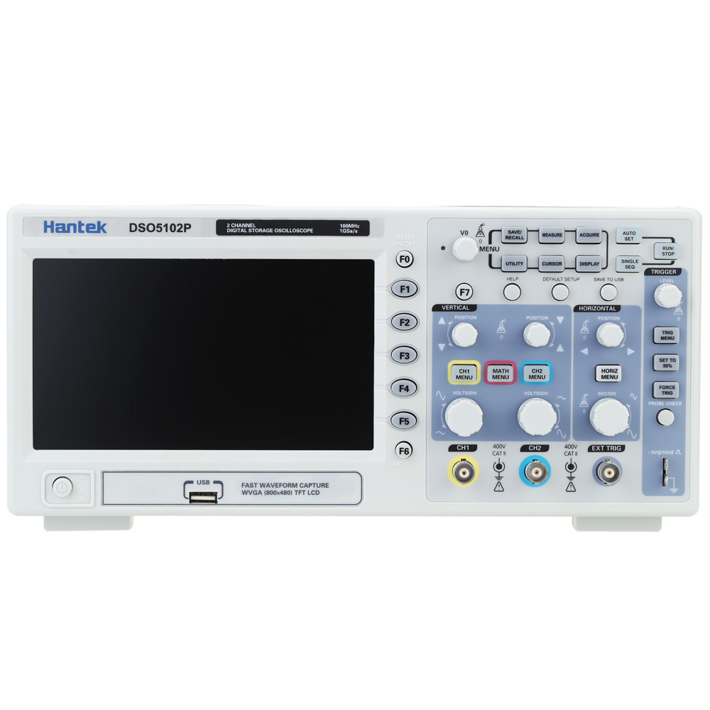 DSO5702P DSO5102P DSO5202PDigital Oscilloscope Portable 100MHz 2 Channels 1GSa/s Record Length 40K USB Osciloscopio hantek dso5072p digital storage oscilloscope 70mhz 2 channels 1gsa s record length 40k usb 2ch