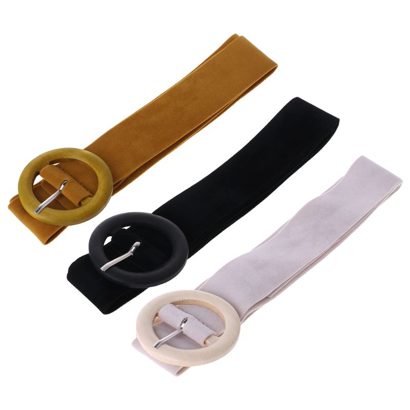 Velvet   Belt   Female Dress   Belts   Decorate Waist Fashion Coat Accessories Strap Women Ladies Waistbands Buckle Leather