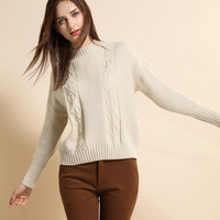2018 autumn winter Women ladies long sleeve o neck slim fitting knitted short thin sweater top femme korean pull tight shirts
