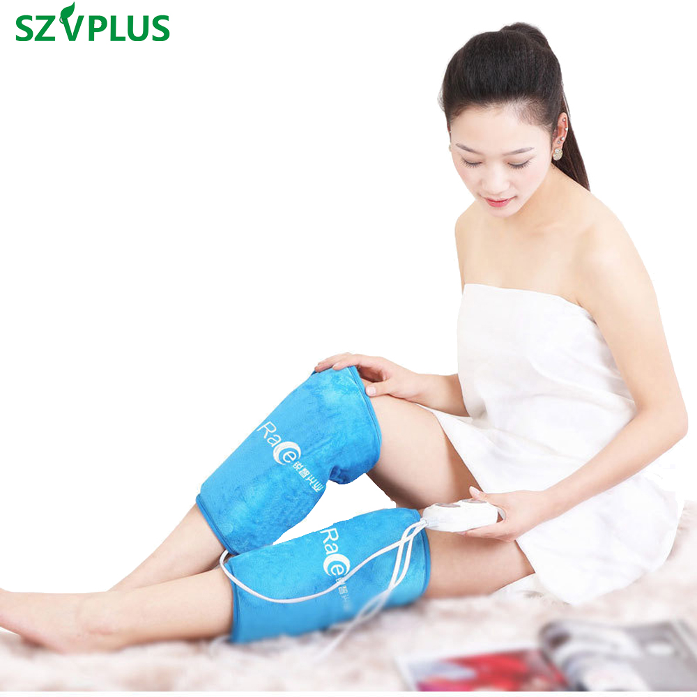 1 Pair Far Infrared Magnetic Electric Heating Knee Pads 25-65 celsius Adjustable Therapy for Arthritis Rheumatism leg waist lenwave 1500 magnetic therapy thin waist aerobic exercise twist board orange white grey