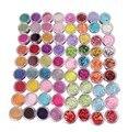 2016 más nuevos 72 Colores Nail Art Puntas de UV Gel Polvo Diseño 3D de Manicura de La Decoración de Lentejuelas Brillantes de polvo Del Brillo Del Arte Del Clavo decoración
