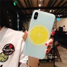 KISSCASE Summer Cool Pattern Case For iPhone X 6 6S 7 8 Plus Fruit Patterned Soft TPU Shell Funda