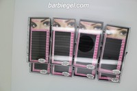 Navina 1200 cases/Lot C Curve 8/9/10/11/12/13/14/15mm Silk False Eyelash Extension Artificial Fake Eye Lashes Makeup Eyelashes