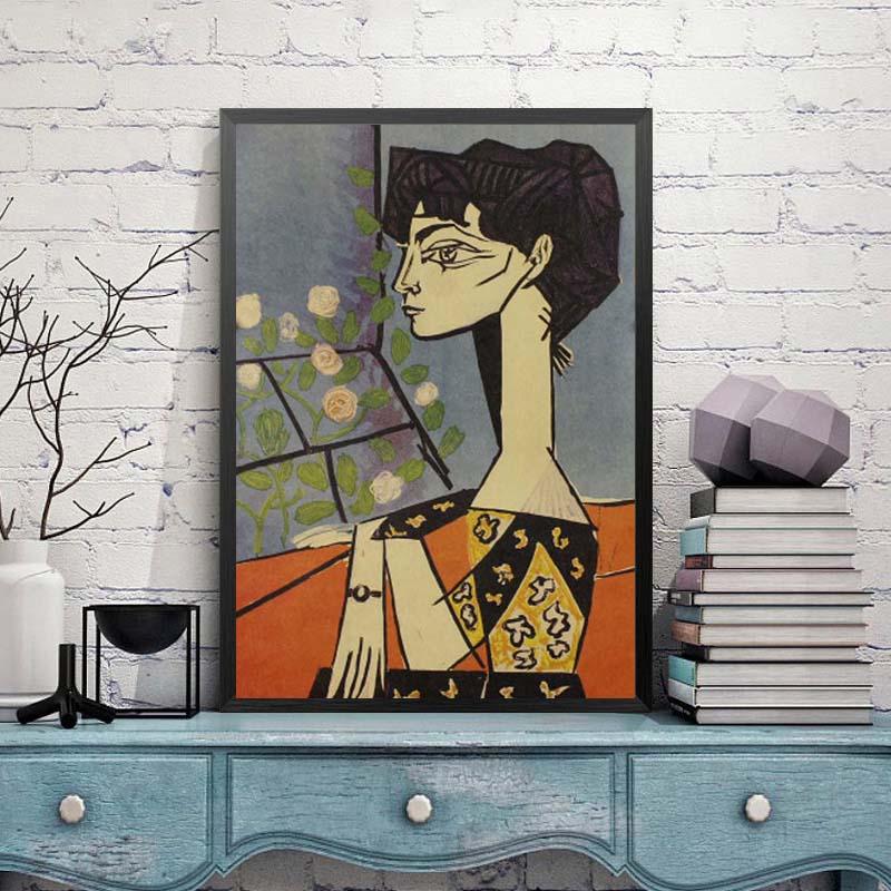 Ностальгия и ретро картина маслом ретро постер винтажный плакаты живопись Ретро плакат, крафт-бумага кафе домашний декор наклейка на стену