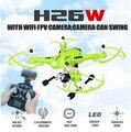 Новый Оригинальный JJRC H26W 2.4 Г 4CH 6 Оси Гироскопа RC Wi-Fi Передачи в Режиме реального времени FPV Quadcopter Drone с 2.0MP HD Камера VS X400-V2