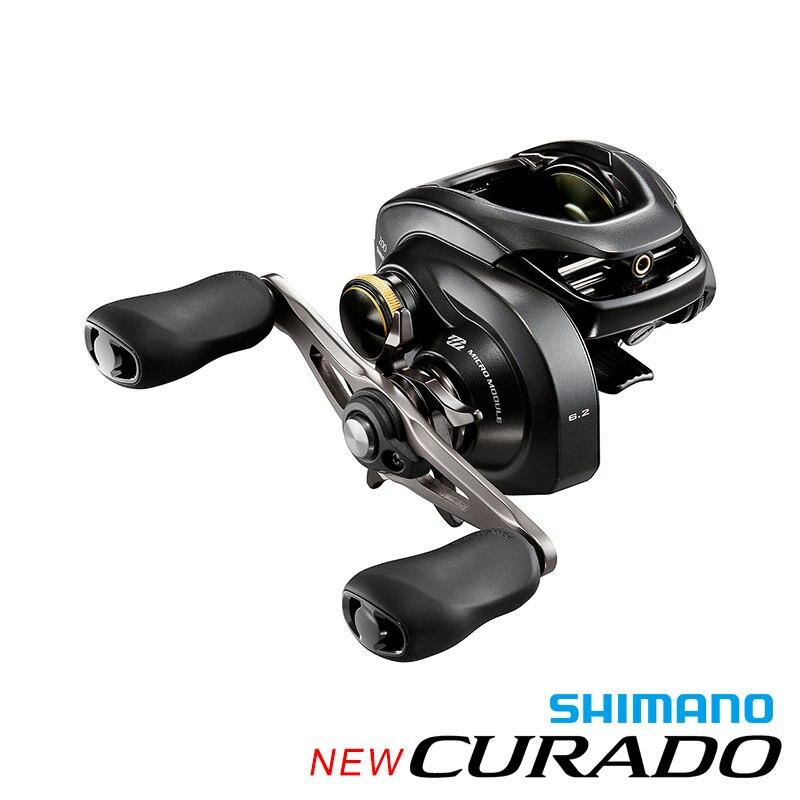 Original 2017 NEW MODEL SHIMANO CURADO K 200XG 201XG Low profile fishing reel 6+1BB  bait casting Fishing Reel Hagane Body  curado 200hgk
