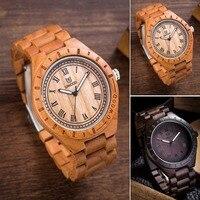 2018 Newest Man Wooden Wristwatch Brand Quartz Watch Role Men Relogio Masculino Fashion Watches Unique Gifts Retro Wood Watches