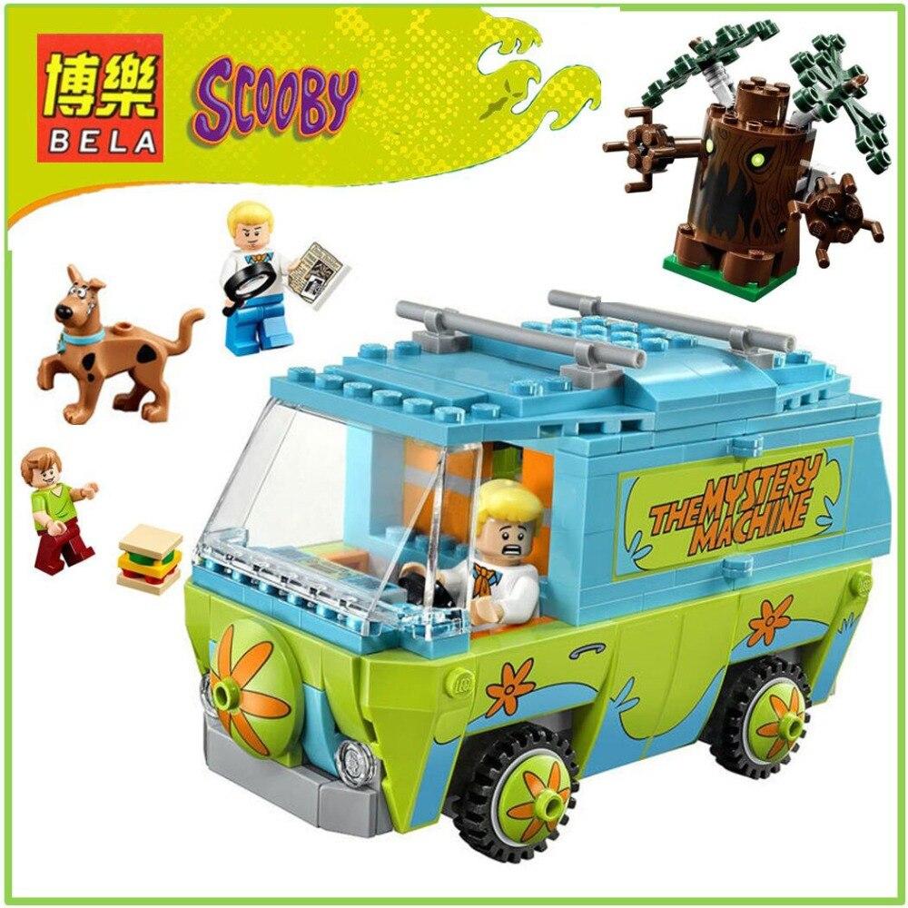 10430 Bela Scooby Doo Mistero Bus de Maquina Bloque de Construccion Juguetes Compatibile Con P029 Cumpleanos