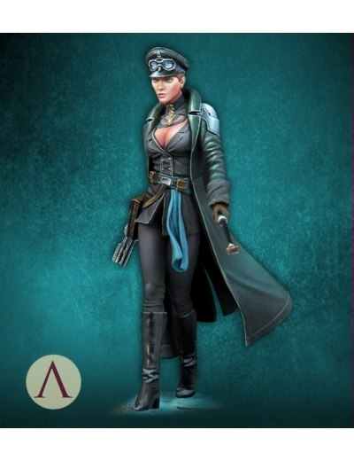 1/24 75MM Resin model Female warrior  Unpainted and unassembled kits  G4331/24 75MM Resin model Female warrior  Unpainted and unassembled kits  G433