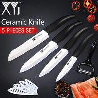 XYj Kitchen Knife Tools Top Quality New Year Present Zirconia Ceramic Knife Set 4 5 6