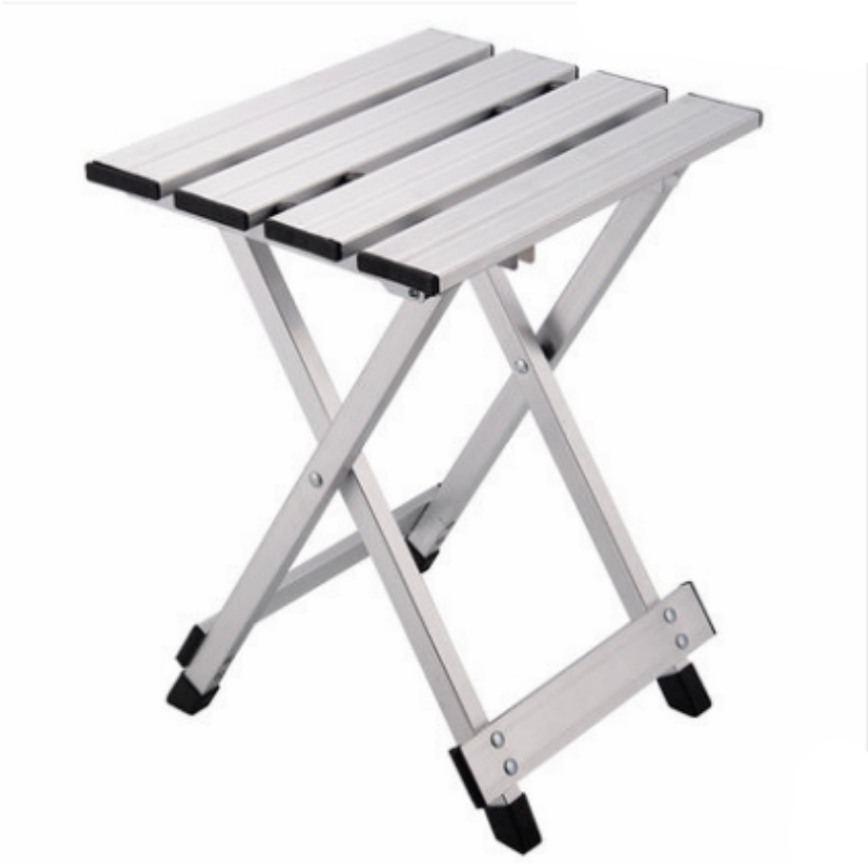 Outdoor Aluminum Alloy Stool Folding Portable Leisure Fishing Stool Household Multifunction Small Seat Light Convenient Stool outdoor aluminum alloy folding leisure stool portable mazar stools travel picnic chairs