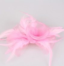 Good quality multiple color  crinoline fascinator