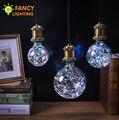 Luzes do feriado lâmpada led rgb luz da corda do natal interior e27 luz de fadas 110 v 220 v edison lâmpada decorativa de navidad fancylighting