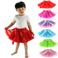 New Real Saias Retail Baby Girls Fluffy Pettiskirts Tutu Princess Party Skirts Skirt Ballet Dance Wear 1-10t Free Shipping