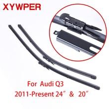 "XYWPER Windshield Wiper Blades for Audi Q3 2011-present 24""+20"" Car Accessories Soft Rubber"