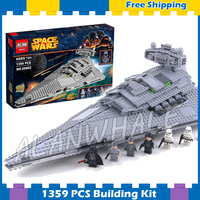 1359pcs Space Wars Imperial Star Destroyer Set Universe Galaxy 05062 Model Building Blocks Sets Gifts Game