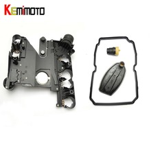 KEMiMOTO Transmission Conductor Plate+Connector+Filter+Gasket for Mercedes-Benz