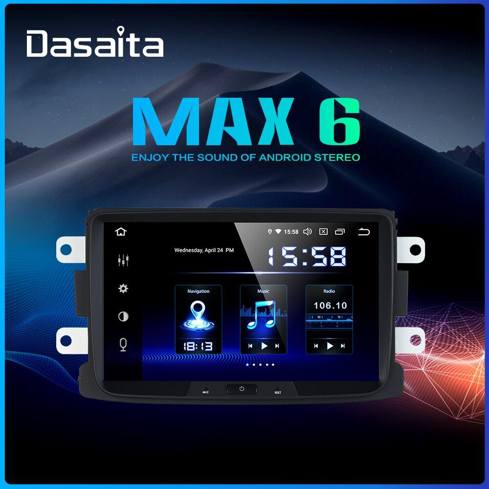 Dasaita 8 IPS Radio Car Multimidia Android 9 0 for Renault Duster Dacia Sandero Duster Captur