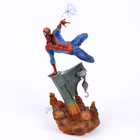 Sideshow Marvel Spiderman The Amazing Spider Man PVC Figure Collectible Model Toy 2 Colors 29cm