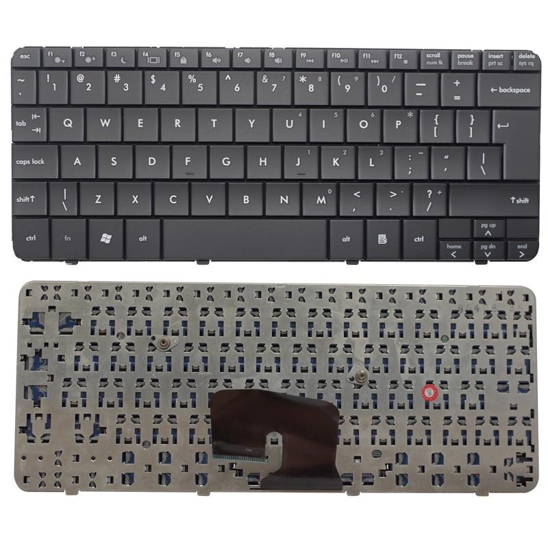 UI Black New English keyboard FOR HP Pavilion dv2-1005AX 1006AX 1124 1201 1125AX Laptop Keyboard