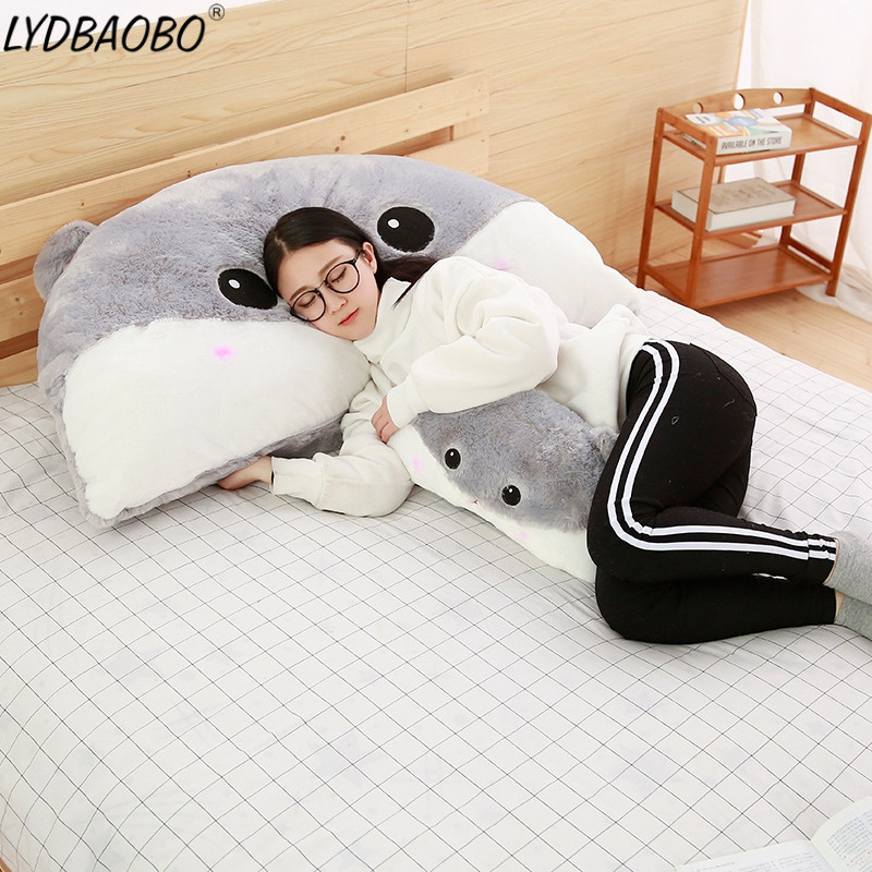 LYDBAOBO 1PC 90CM Giant Hamster Plush Toys Baby Lovely Stuffed Soft Pillow Cushion Dolls Animal Bed Sleeping Cushion Kids Gifts lovely cartoon cloud smile face knitted crocheted cushion pillow stuffed dolls baby bed room decoration toys nordic style