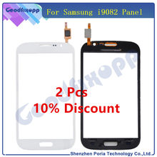 For Samsung Galaxy Grand Duos I9082 Touch Screen Digitizer Front Glass Sensor Panel Digitizer Lens For Samsung I9082 Screen(China)