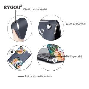 Image 4 - Funda de mármol mate y cubierta de teclado para nuevo Macbook Air 13 pulgadas, 2018 de liberación A1932 con pantalla Retina y ID táctil