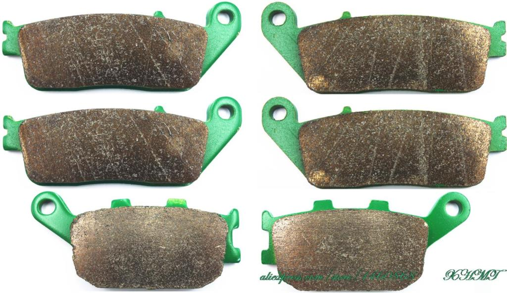 Disc Brake Pads Set For <font><b>Honda</b></font> <font><b>Cbf1000</b></font> Cbf 1000 2006 & Up/ Vt1100c Vt1100 Vt 1100 C2 Shadow 1995 & Up image