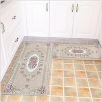 HOT 2PCS Set 60X90 And 45X120CM Carpet Door Mat Coffee Table Area Home DecorCarpets Kitchen Bath