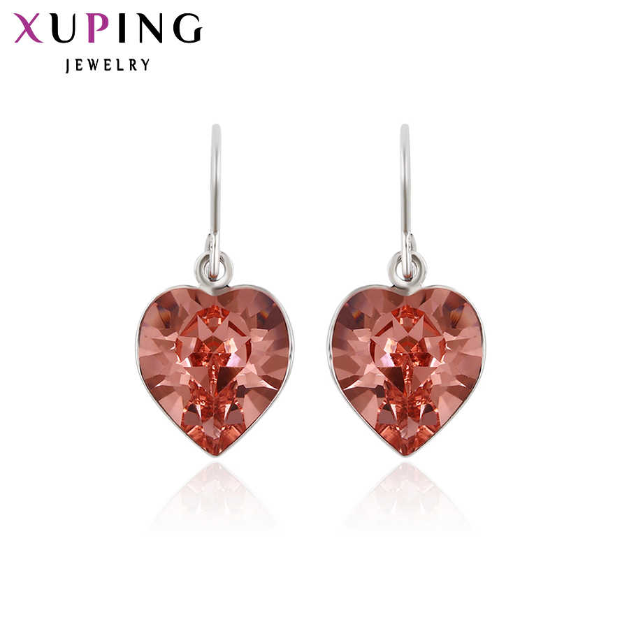 Xuping Fashion Earrings for Women High Quality Crystals from Swarovski Popular Design Charm Style Gift M4-20031