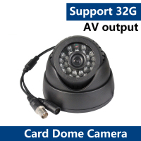 YUNSYE BNC PC Eyeball Camera 24x LED IR 15M Night Video Audio CCTV DVR Dome Camera